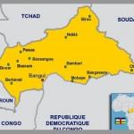 Cartes des villes de la Centrafrique