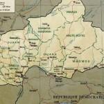 Carte de la République centrafricaine, par aaker (Wikimedia Commons)