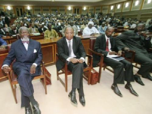 Dialogue politique Inclusif en 2008 en RCA - Photo(Crédit: sangonet.com)