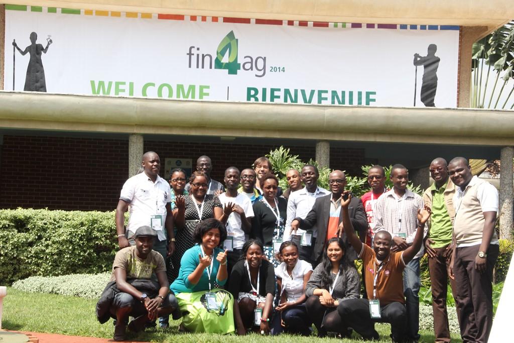 Les Jeunes reporters a la FIN'Ag14(Photo crédit: Housseini)
