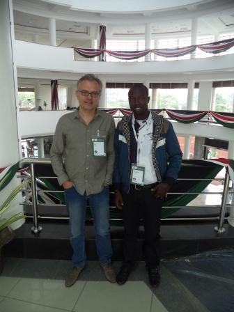 Philippe Couve et Baba Mahamat à la Fin4Ag14