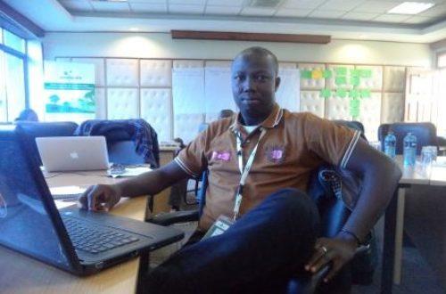 Article : 1 jeune, 1 voix! Baba Mahamat, jeune centrafricain dynamique et optimiste, pour qui «la jeunesse est une chance».