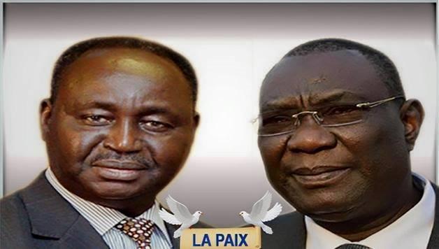 François Bozize et Michel Djotodia, els deux antagonistes de la crise centrafricaine.