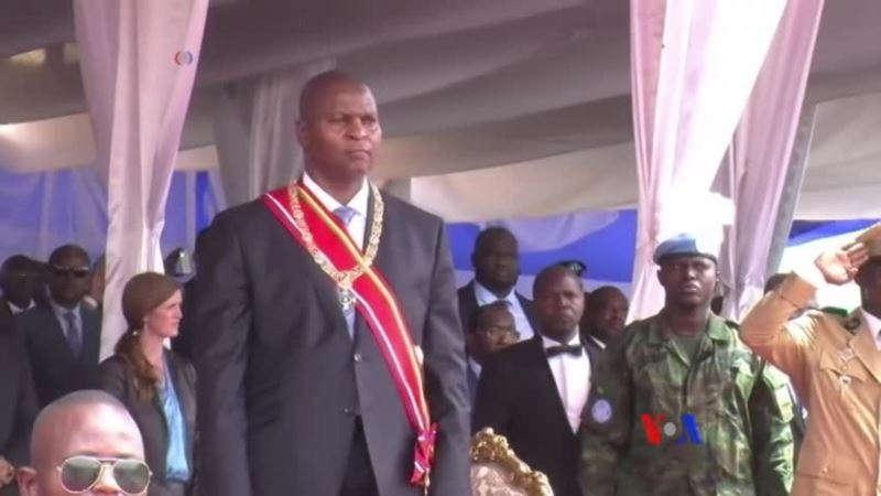Le nouveau président centrafricain, le Pr Faustin Archange Touadera (Crédit photo: alvinet.com)