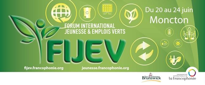 Logo du FIJEV 2016 à Moncton