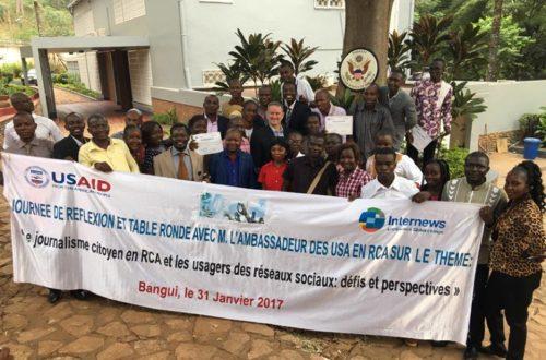 Article : #Brisonslapeur: un hastag pour vaincre l'insécurité en République centrafricaine