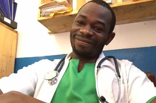 Article : À la rencontre de Cédric Ouanekpone, jeune médecin centrafricain